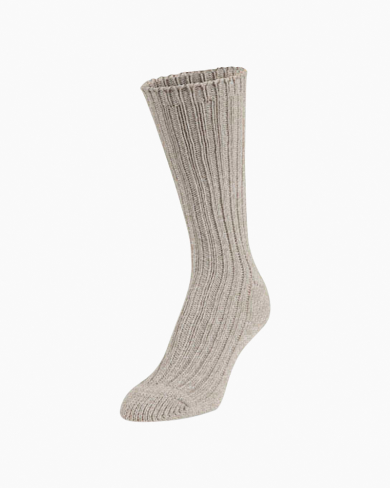 World's Softest Oatmeal Ragg Collection Crew Socks