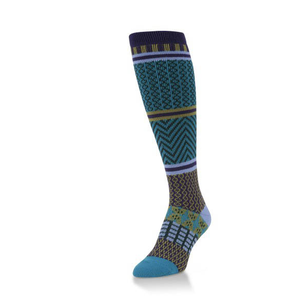 World's Softest Gallery Socks in Peacock