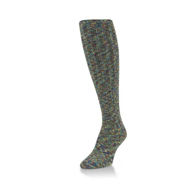 World's Softest Serenity Spacedye Ragg Knee High Sock