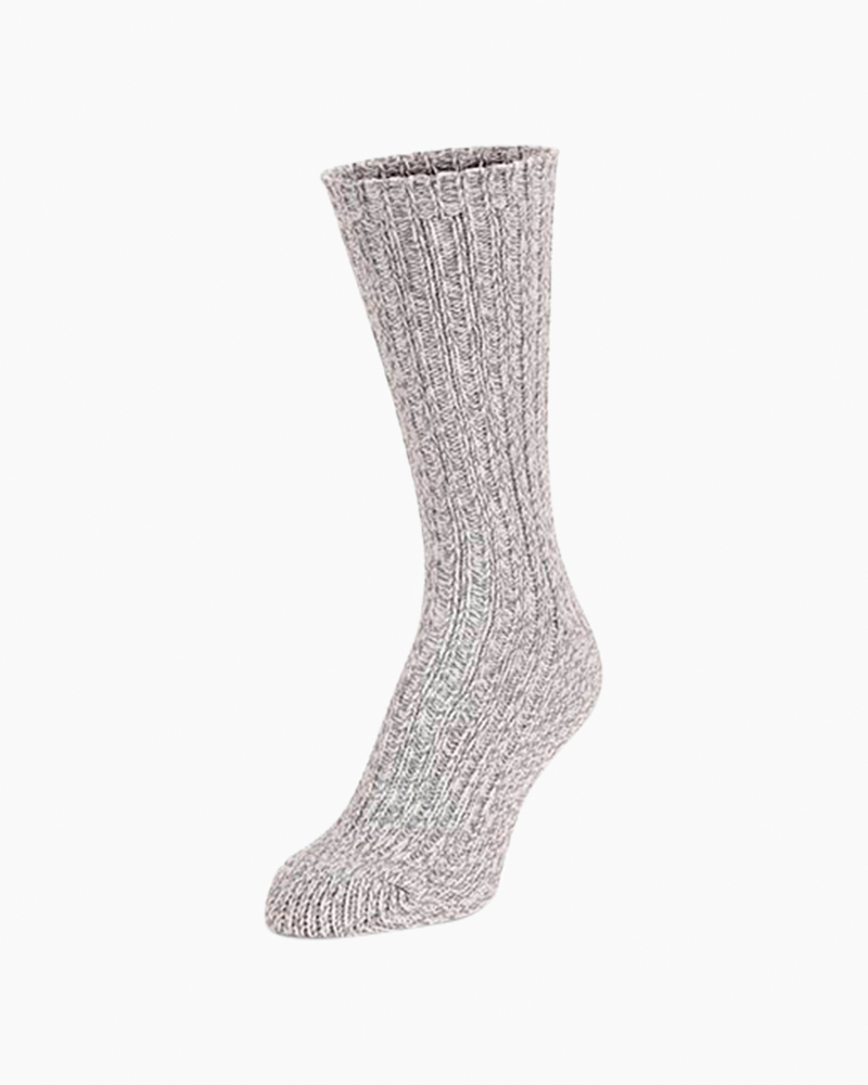 World's Softest White Ragg Crew Socks