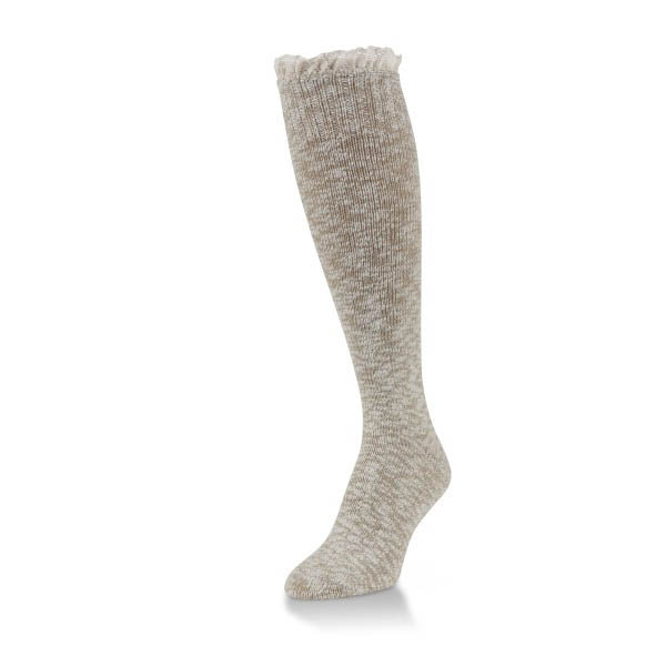 World's Softest Coriander Slub Knee High Socks