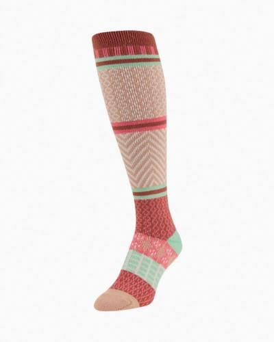 Gallery Knee High Sock in Gingerbread