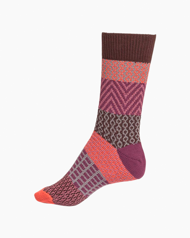 World's Softest Gallery Crew Sock in Sassafras