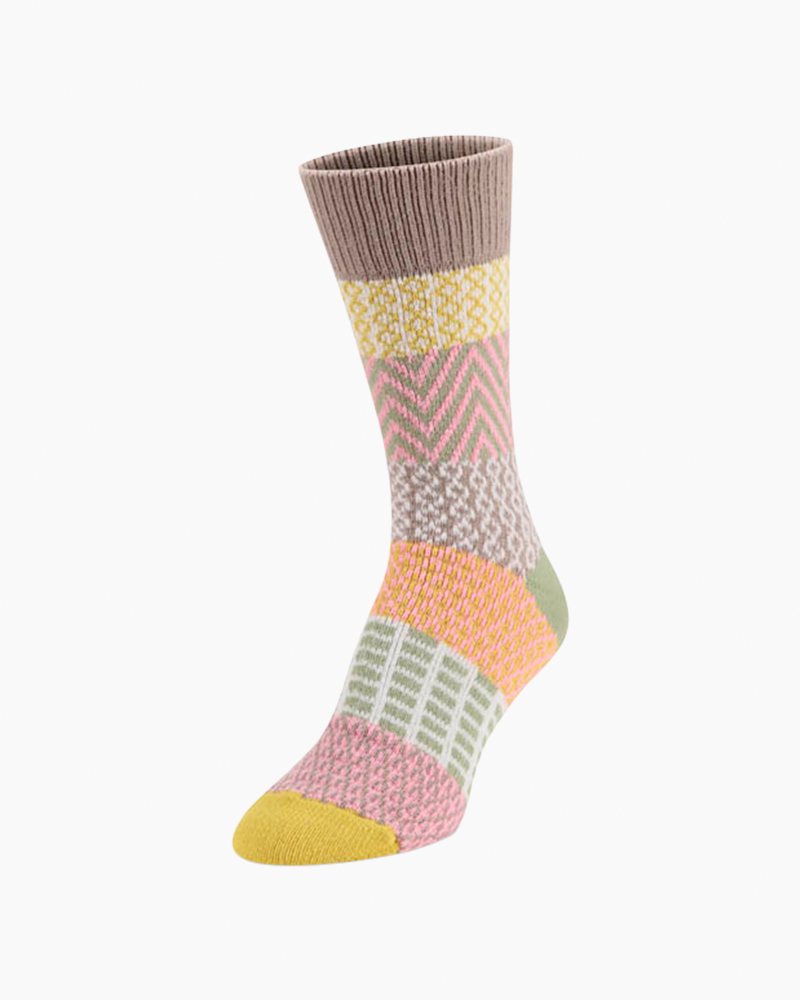 World's Softest Gallery Crew Sock in Sand Dune