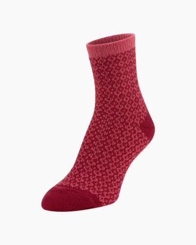 Gallery Mini Crew Socks in Rosy