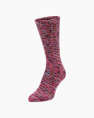 Ragg Crew Socks in Lucky Spacedye