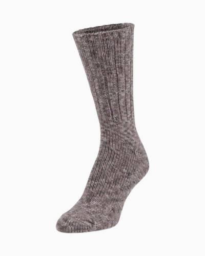 Ragg Crew Socks in Shady Spacedye