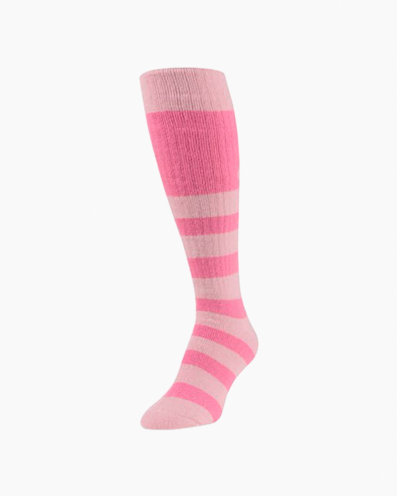 World's Softest Novelty OTC Socks in Pink Multi