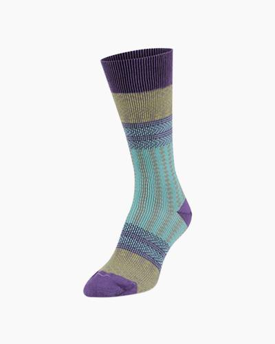 Candy Crew Socks in Peacock