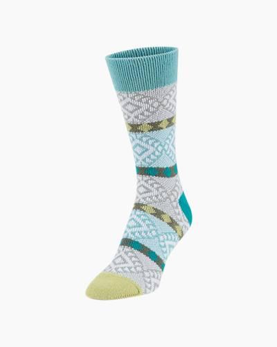 Gallery Crew Socks in Sweet Pea