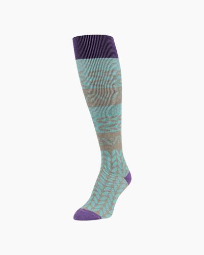 Baker Knee High Socks in Peacock