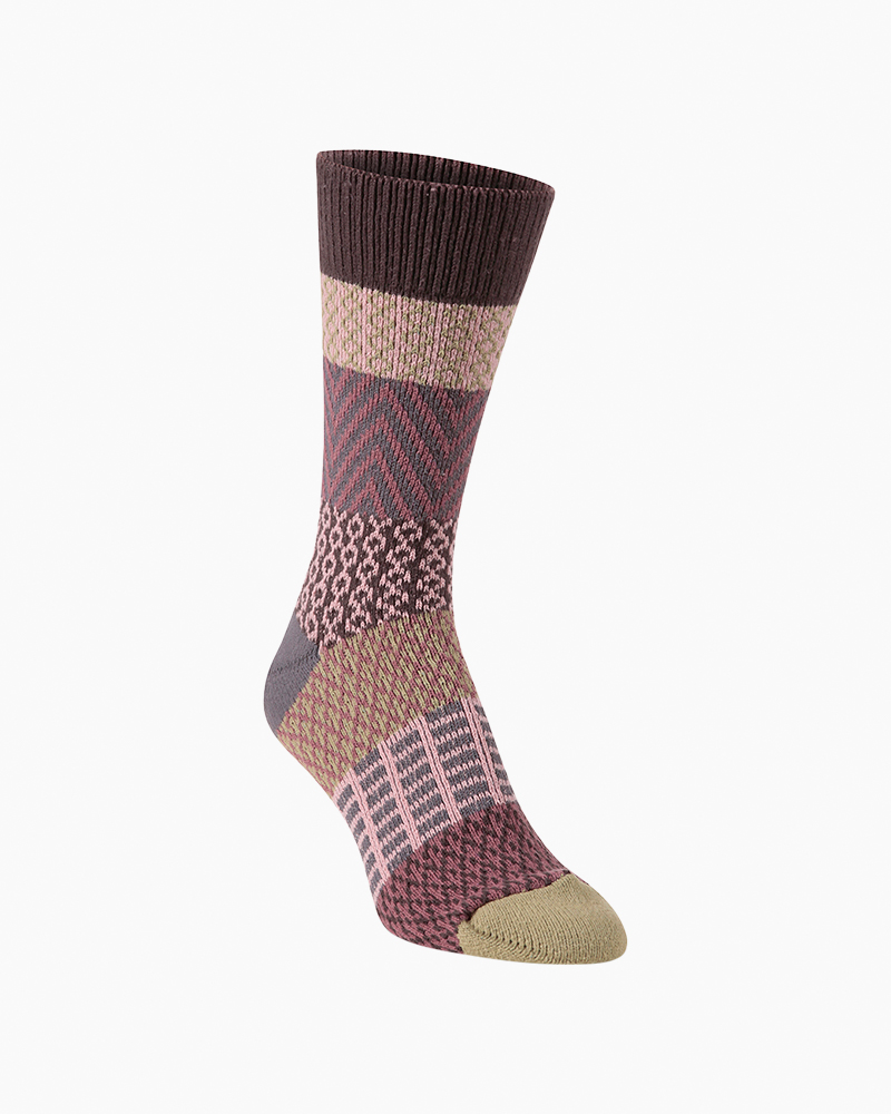 Adobe Rose World/'s Softest Socks NEW Ragg Pink Crew Length