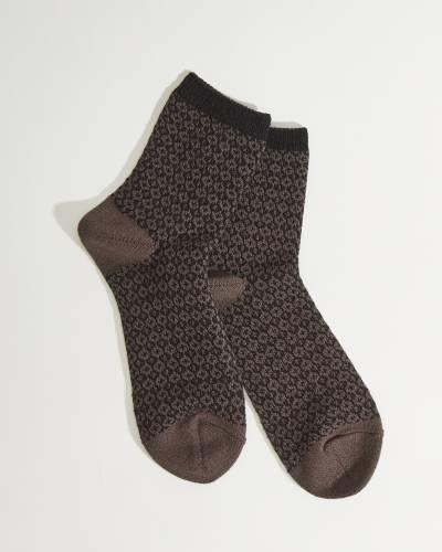 Gallery Mini Crew Socks in Harvest Moon