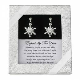 D.M. Merchandising A Snowflake Just for You Earrings