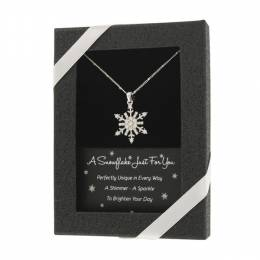 D.M. Merchandising A Snowflake Just for You Necklace