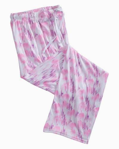 Muted Pink Tie Dye PJ Lounge Pants