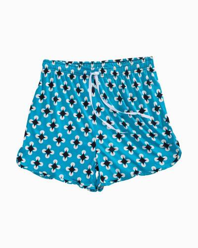 Blue and Black Diamonds PJ Shorts