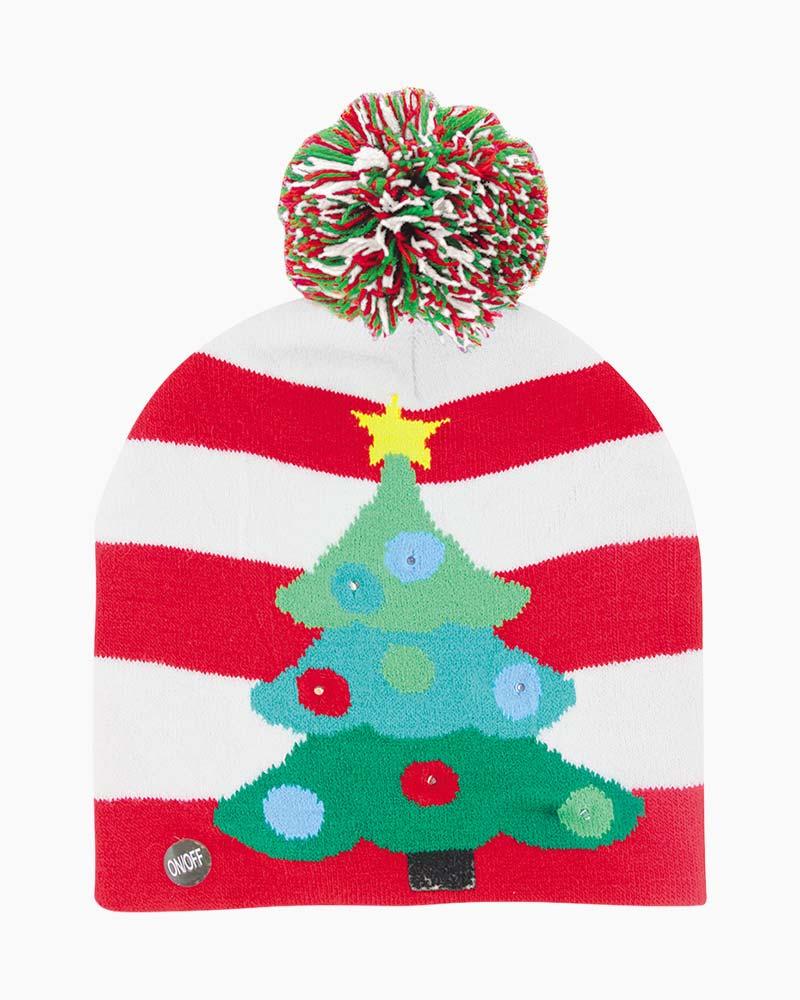 cb51682682603 DM Merchandising Lotsa Lites Light-Up Christmas Tree Hat