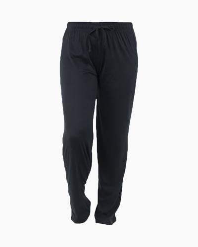 Solid Black PJ Lounge Pants
