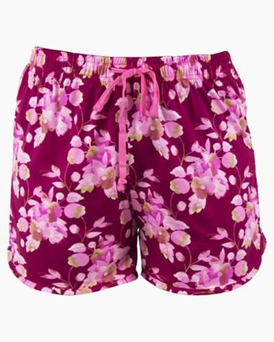 Magenta Floral PJ Lounge Shorts