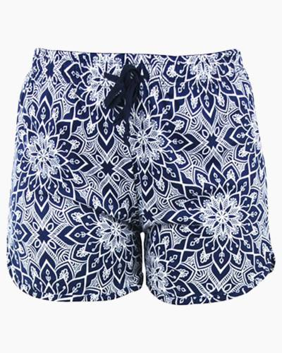 White Lotus PJ Lounge Shorts