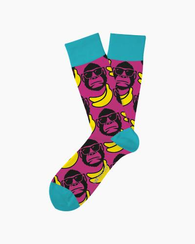 Funky Monkey Unisex Everyday Socks