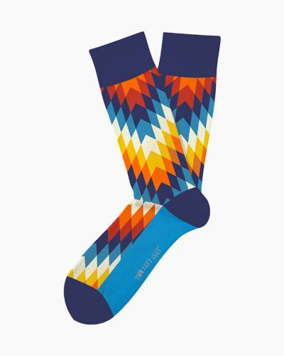 Kaleidoscope Unisex Everyday Socks
