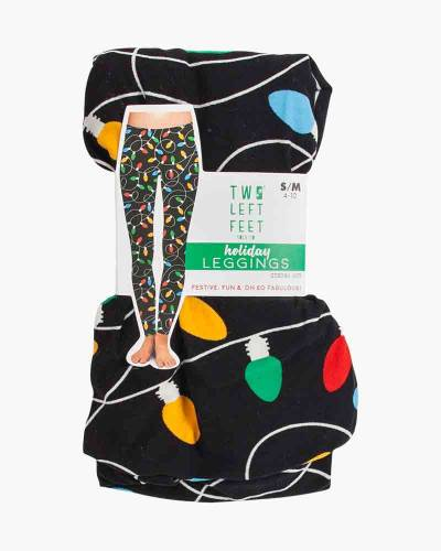 Colorful Christmas Lights Leggings