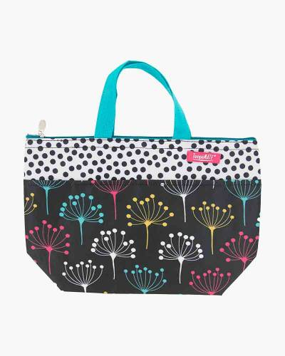 Insulated Thermal Tote Bag in Dot Trees