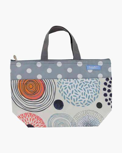 Insulated Thermal Tote Bag in Swirls