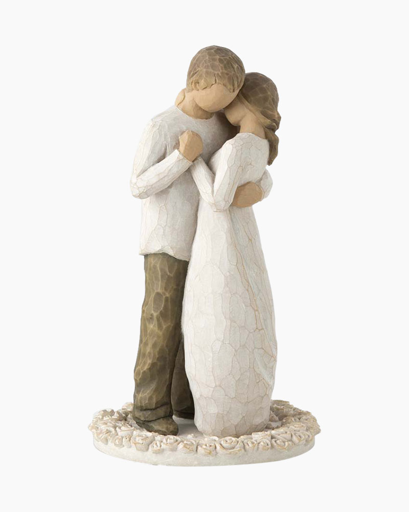 willow tree angel wedding cake topper willow tree promise cake topper the paper 27489