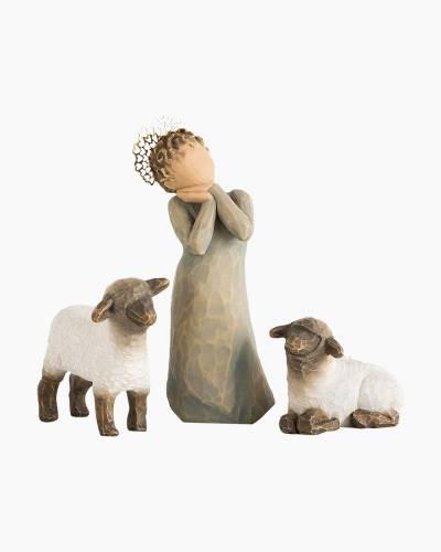 Little Shepherdess Nativity Figures