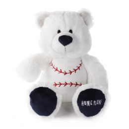 Nat & Jules Game Day Baseball Bear Blush