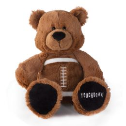 Nat & Jules Game Day Football Bear Blush