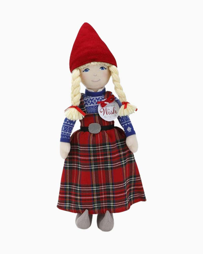 Demdaco The Christmas Wish Anja Doll