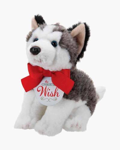 The Christmas Wish Husky Plush