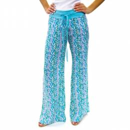 Dennis East Vine Patterned Pants