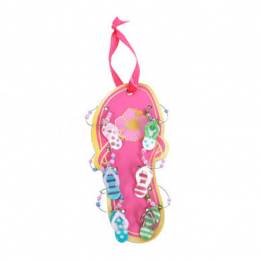 Dennis East Glass Flip Flop Wine Charms