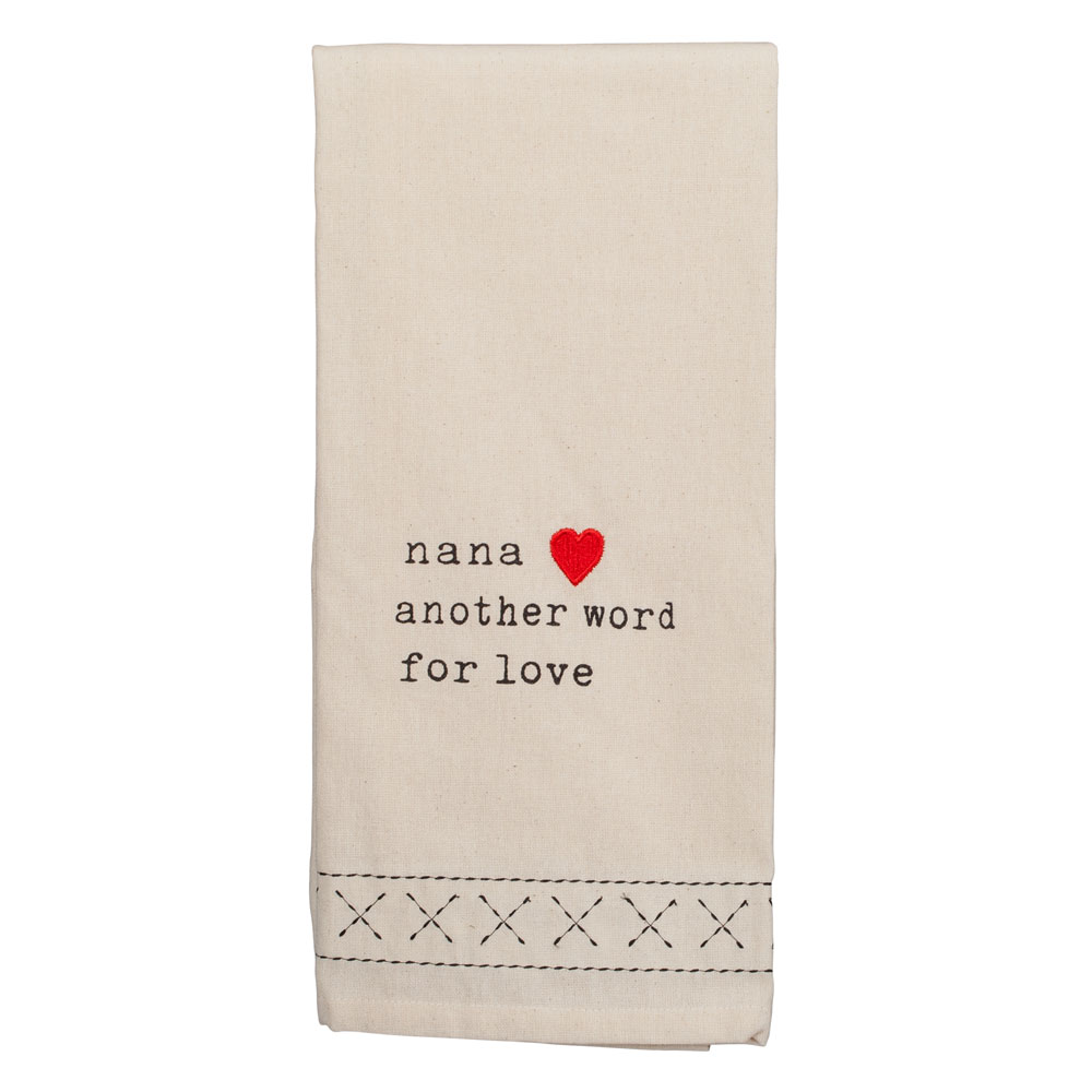 Dennis East Nana is Another Word for Love Kitchen Towel