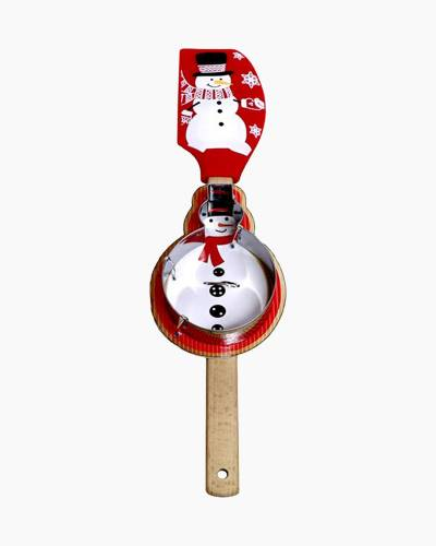 Snowman Spatula and Cookie Cutter Set