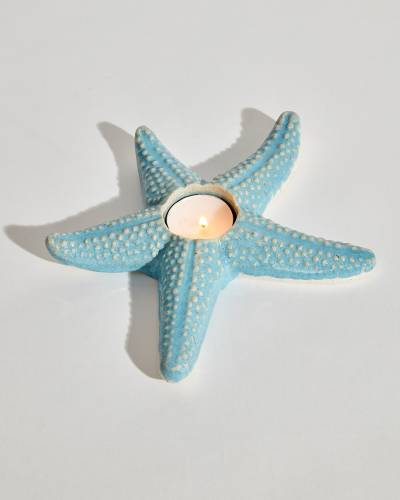 Starfish Tealight Candle Holder (Assorted)