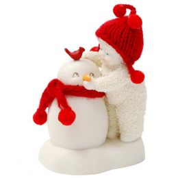 Trust Me Wear This Snowbabies Figurine