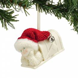 Snowbabies Holiday Mail Ornament