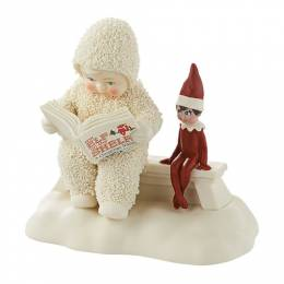 Snowbabies Elf Shelf Story Figurine