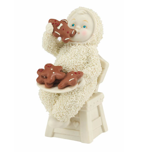 Snowbabies Snowbabies Christmas Memories - Eating All the Gingerbread Figurine