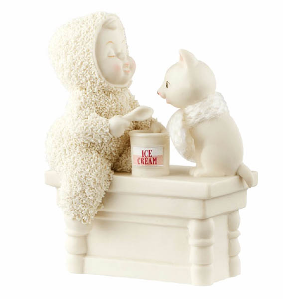 Snowbabies Snowbabies A Scoop to Soothe The Soul Figurine