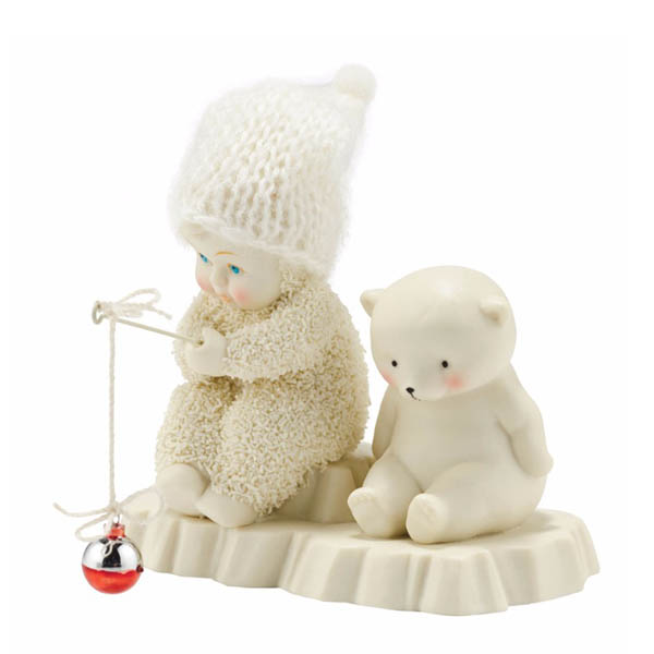 Snowbabies Snowbabies Into the Woods - Bait & Wait Figurine