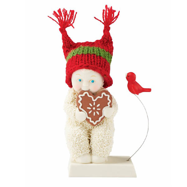 Snowbabies Snowbabies Christmas Memories Sharing A Sweet Treat Figurine