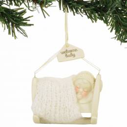 Snowbabies Welcome Baby Snowbabies Ornament