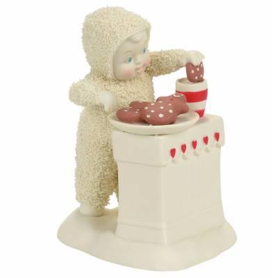 Better with Milk Snowbabies Figurine